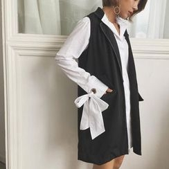 Windflower - Stitched Long Vest