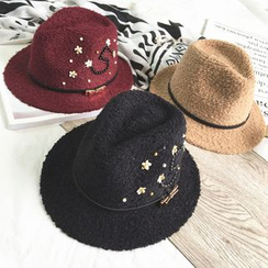 FROME - Embellished Fedora Hat