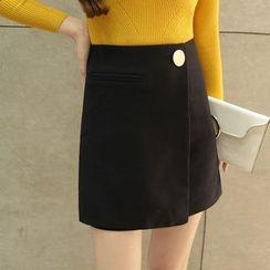 Lovebirds - A-Line Skirt
