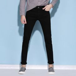 Denimic - Plain Slim Fit Jeans