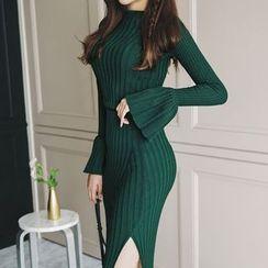 Aurora - 毛衣半裙套裝