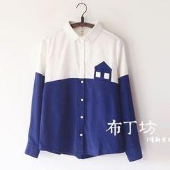 Bonbon - Color Block Shirt