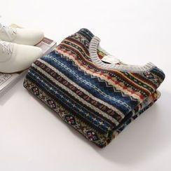 布丁坊 - 圖案毛衣