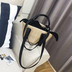 Nautilus Bags - Straw Hand Bag