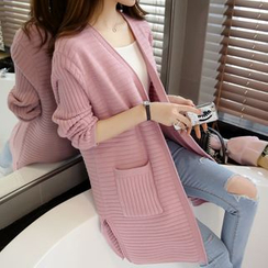 ENZA - Plain Long Cardigan