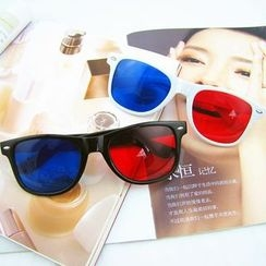 GLAMAX - Color Block Sunglasses