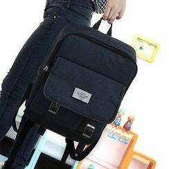 Bag Hub - Double Buckle Lightweight Backpack