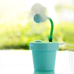 Cloud Forest - USB Plant Fan