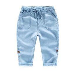 DEARIE - 兒童水洗牛仔褲