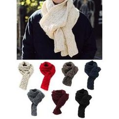 JOGUNSHOP - Cable-Knitted Scarf