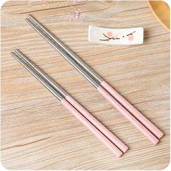Eggshell Houseware - Stainless Steel Chopsticks