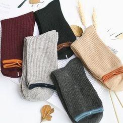 LIFEDIFF - Ribbed Socks