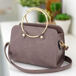 BOLIYASHI - Hoop-Accent Handbag