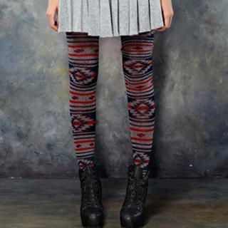 ELF SACK - Patterned Knit Leggings