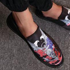 Shino - Printed Slip-Ons