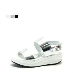 MODELSIS - Platform Buckled Sandals