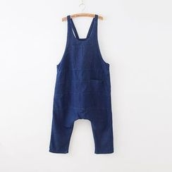Rosadame - Denim Harem Dungaree