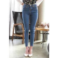 MyFiona - Washed Skinny Jeans