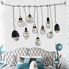 LESIGN - Light Bulb Print Wall Sticker