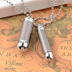 Trend Cool - Bullet Couple Necklace