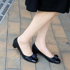 59th Street - Square Toe Low Pumps