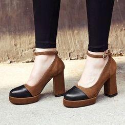 幸福鞋坊 - 粗跟高跟鞋