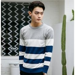 Elkelake - Color Block Sweater