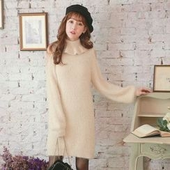Tokyo Fashion - Cutout-Sleeve Knit Dress