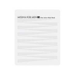 Missha 谜尚 - For Men Pure Active Sheet Mask (1pc)