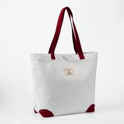Ms Bean - Panel Canvas Shopper Bag