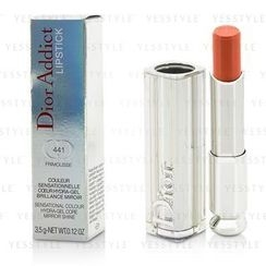Christian Dior - Addict Lipstick Sensational Color Hydra-Gel Core Mirror Shine (#441 Frimousse)