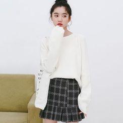 Porta - Plain Knit Top