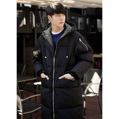 JOGUNSHOP - Hooded Puffer Long Coat