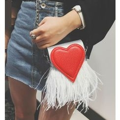Youshine - Heart Crossbody Mobile Pouch