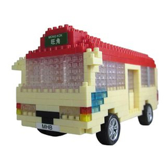 M.H. Blocks - Hong Kong Minibus Toy Building Blocks