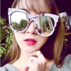 UnaHome Glasses - 粗框太阳镜