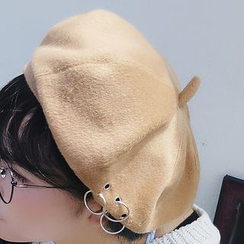 Pompabee - Ring Detail Beret