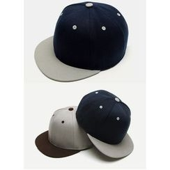 JOGUNSHOP - Two-Tone Cotton Cap