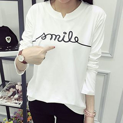 Yohana - Letter 3/4-Sleeve T-shirt