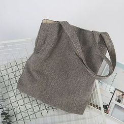 Ms Bean - Linen Tote Bag
