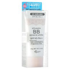 ettusais - BB Mineral White SPF 45 PA++ (#20 Natural Skin Color)