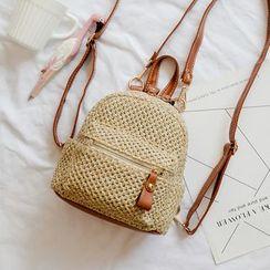 Youshine - Woven Mini Backpack