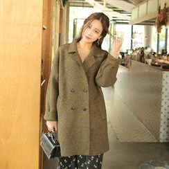Cherryville - Double-Breasted Oversized Coat