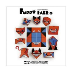 cochae - cochae : Funny Face Origami Paper Set 4 (5 Sheets)