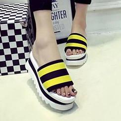 Honey Honey - 厚底凉鞋