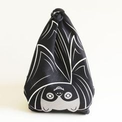 cochae - cochae : Hanging Wrapping Cloth Bat (Black)