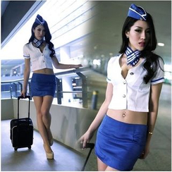 Cleopatra - Flight Attendant Party Costume Set