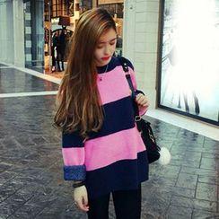 Bloombloom - Color block Sweater
