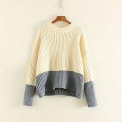 Mushi - Color Block Sweater