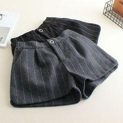 Mushi - Striped Shorts